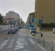 Pressi via Gubbio, bilocale 55 mq, vuoto.
