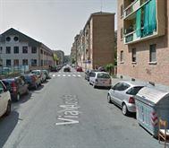 Pressi via Aosta, trilocale 65 mq, semi arredato.