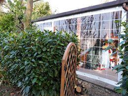 Sul Lago Roulotte + casetta in legno con veranda